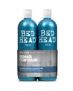 Tigi Bed Head Set Shampoo 750ml & Conditioner 750ml Για Ξηρά & Ταλαιπωρημένα Μαλλιά 2 Τμχ