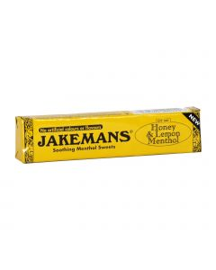 Jakemans Honey & Lemon Menthol Καραμελες γιατον Λαιμο με μελι & Λεμονι 41G