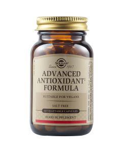 Solgar Advanced Antioxidant Formula Φόρμουλα Βιταμινών & Μετάλλων Για Την Αντιμετώπιση Των Ελευθέρων Ριζών 60 Φυτικές Κάψουλες