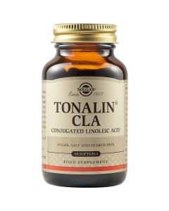 Solgar Tonalin CLA 1300mg Συμπλήρωμα Διατροφής Με Βασικό Ω-3 Λιπαρό Οξύ Για Έλεγχο Βάρους & Μείωση Λίπους 60 Μαλακές Κάψουλες