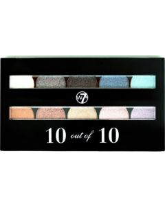W7 Perfect 10 Out Of 10 Assorted Shades Eye Shadow 10G