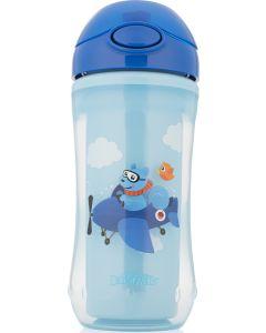 Dr BrownS Κύπελλο-Θερμός με Καλαμάκι Μπλε-Σιελ 12Μ+ 01021 300 ml