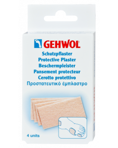 Gehwol Protective Plaster Thick Παχύ Προστατευτικό Έμπλαστρο 4 Τμχ
