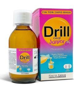 Petit Drill Junior Παιδικο Σιροπι γιατον Ξηρο Βηχα Απο 6 Ετων με Γευση Φραουλα 200ml