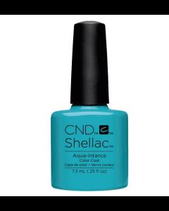 Cnd Shellac Aqua - Intance Color Coat 7 Ημιμόνιμο Βερνίκι 7.3ml