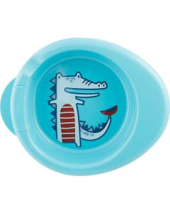 Chicco Πιάτο Θερμός Μπλε 6Μ+ 1 Τμχ