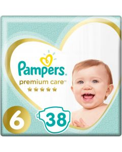 Pampers Premium Care Jumbo Pack No6 (13+ Kg) 38 Πάνες