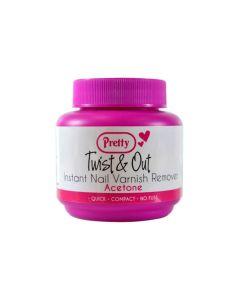 Pretty Twist & Out Nail Varnish Remover Ασετον γιαΤα Νυχια 55 ml