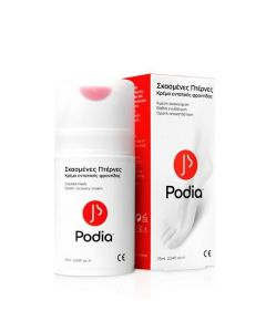 Podia Cracked Heels Cream Κρέμα Για Τις Σκασμένες Πτέρνες 75ml