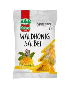 Kaiser Salbei Καραμέλες Για Τον Ερεθισμένο Λαιμό & Τον Βήχα Με Φασκόμηλο & Μέλι Του Δάσους 75gr