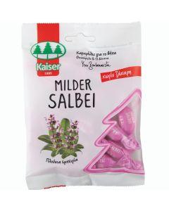 Kaiser Milder Salbei Καραμέλες Για Το Βήχα Με Φασκόμηλο & 13 Βοτανα 60g