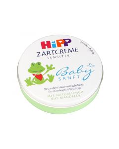 Hipp Zartcreme Sensitiv Προστατευτική Κρέμα Για Την Ευαίσθητη Περιοχή Των Μωρών 75ml