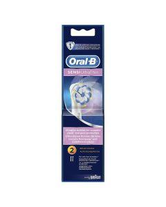 Oral-B Sensi UltraThin Ανταλλακτικές Κεφαλές Ηλεκτρικής Οδοντόβουρτσας 2τμχ
