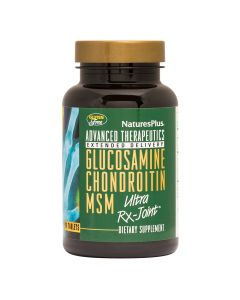 Natures Plus Glucosamine Chondroitin MSM Ultra RX-Joint 90 Ταμπλέτες