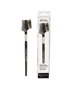 Royal Cosmetics Eye Brow Groomer 2 Σε 1 Βουρτσάκι-Χτενάκι Για Τα Φρύδια 1 Τμχ