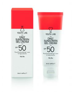 Youth Lab Daily Sunscreen Gel Cream Spf50 για Λιπαρό Δέρμα 50ml