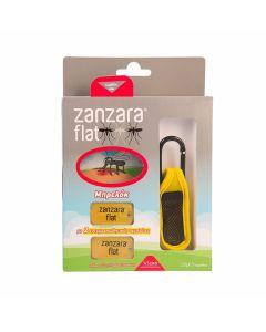 Vican Zanzara Flat Εντομοαπωθητικό Μπρελόκ Σε Κίτρινο Χρώμα & 2 Ανταλλακτικές Εντομοαπωθητικές Ταμπλέτες