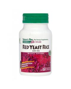 Natures Plus Red Yeast Rice 600mg 60 Φυτικές Κάψουλες