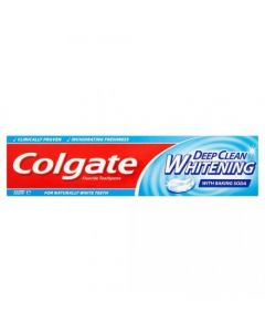 Colgate Deep Clean Whitening With Baking Soda Οδοντόκρεμα 100ml