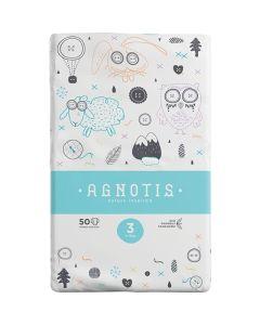 Agnotis Βρεφικές Πάνες No 3 (4-9kg) 50τμx