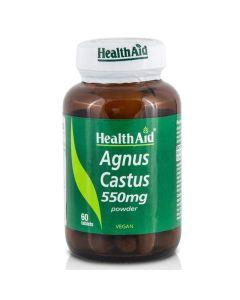 Health Aid Agnus Castus 550mg Συμβάλλει Στην Ανακούφιση Των Συμπτωμάτων Του Προεμμηνορρυσιακού Συνδρόμου 60 Φυτικές Ταμπλέτες