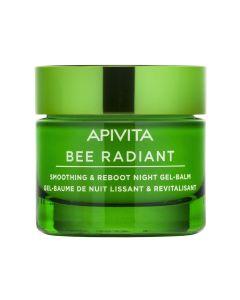 Apivita Bee Radient Gel Balm Νύχτας για Λείανση & Αναζωογόνηση 50ml