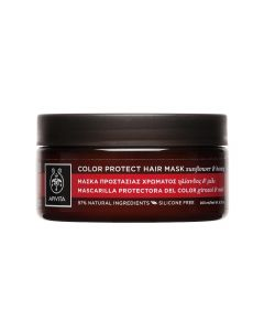 Apivita Colour Protect Μάσκα Προστασίας Χρώματος Για Βαμμένα Μαλλιά με Ηλίανθος & Μέλι 200ml