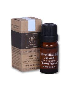 Apivita Essential Oil Αιθέριο Έλαιο Γιασεμί 10% Σε Λάδι Jojoba 10ml