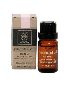 Apivita Essential Oil Αιθέριο Έλαιο Νερολι 10% Σε Λάδι Jojoba 10ml