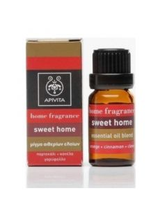 Apivita Essential Oil Blend Αιθέριο Έλαιο Sweet Home 10ml