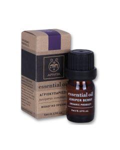Apivita Essential Oil Juniper Berry Αιθέριο Έλαιο Αγριοκυπάρισσο 5ml