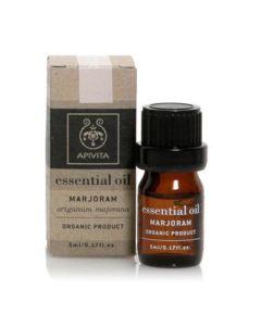 Apivita Essential Oil Marjoram Αιθέριο Έλαιο Ματζουράνα 5ml