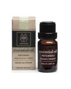 Apivita Essential Oil Patchouli Αιθέριο Έλαιο Πατσουλί 10ml