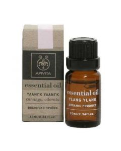 Apivita Essential Oil Ylang Ylang Αιθέριο Έλαιο Υλάνγκ Υλάνγκ 10ml