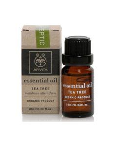 Apivita Essential Tea Tree Έλαιο Τειοδένδρου 10ml