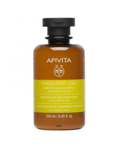 Apivita Frequent Use Απαλό Σαμπουάν Καθημερινής Χρήσης Χαμομήλι & Μέλι 250ml