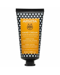 Apivita Intensive Moisturizing Κρέμα Χεριών Εντατικής Ενυδάτωσης Με Υαλουρονικό Οξύ & Μέλι 50ml