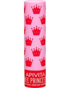Apivita Lip Care Bee Princess Eco-Bio Με Βερίκοκο + Mέλι 4.4g