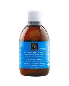 Apivita Mouthwash Φυσικό Στοματικό Διάλυμα Total Με Δυόσμο & Πρόπολη 250ml