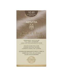 Apivita My Color Elixir Μόνιμη Βαφή Μαλλιών No 10.81 Κατάξανθο Περλέ Σαντρέ 50ml+75ml