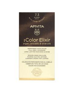 Apivita My Color Elixir Μόνιμη Βαφή Μαλλιών Νο 7.3 Ξανθό Χρυσό