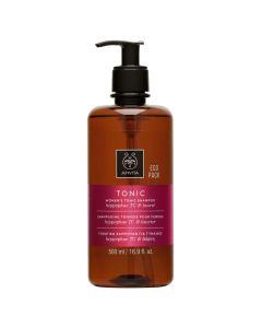 Apivita Women's Tonic Shampoo Τονωτικό Σαμπουάν Για Γυναίκες Με Hippophae Tc & Δάφνη 500ml