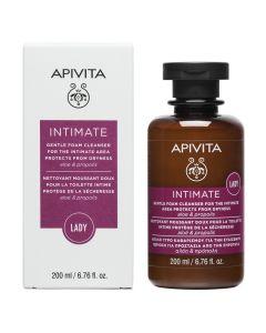 Apivita Intimate Lady Απαλό Υγρό Καθαρισμού Για Την Ευαίσθητη Περιοχή Με Αλόη & Πρόπολη 200ml
