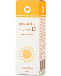 Aquasol Vitamin D Oral Spray Συμπλήρωμα Διατροφής Με Βιταμίνη D Σε Μορφή Στοματικού Εκνεφώματος 15ml