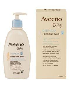Aveeno Baby Dermexa Moisturising Wash Ενυδατικό Υγρό Καθαρισμού Σώματος για Μωρά με τάση Ατοπίας 300ml