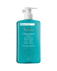 Avene Cleanance Gel Καθαρισμού Για Το Λιπαρό Δέρμα 400ml