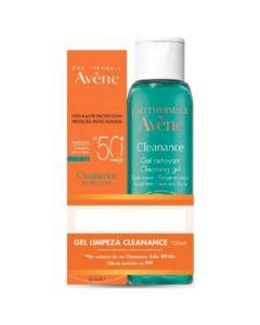 Avene Πακέτο Promo Set Cleanance Solaire SPF50+ Αντιηλιακό Για Λιπαρές Επιδερμίδες 50ml & Δώρο Cleanance Gel Καθαρισμού 100ml