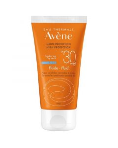 Avene Fluid Dry Touch SPF30 Λεπτόρρευστη Αντιηλιακή Κρέμα Προσώπου 50ml