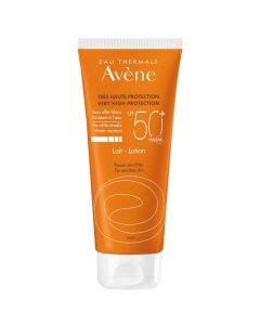 Avène Soins Solaires Αντηλιακό Γαλάκτωμα SPF50+ Ενυδάτωσης για Πρόσωπο & Σώμα 100ml Promo Smiley Price -50%