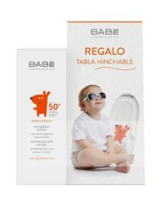 Babe Pediatric Πακέτο Promo Set Σετ Βρεφικό - Παιδικό Αντιηλιακό Γαλάκτωμα SPF50 100ml & Δώρο Φουσκωτή Σανίδα